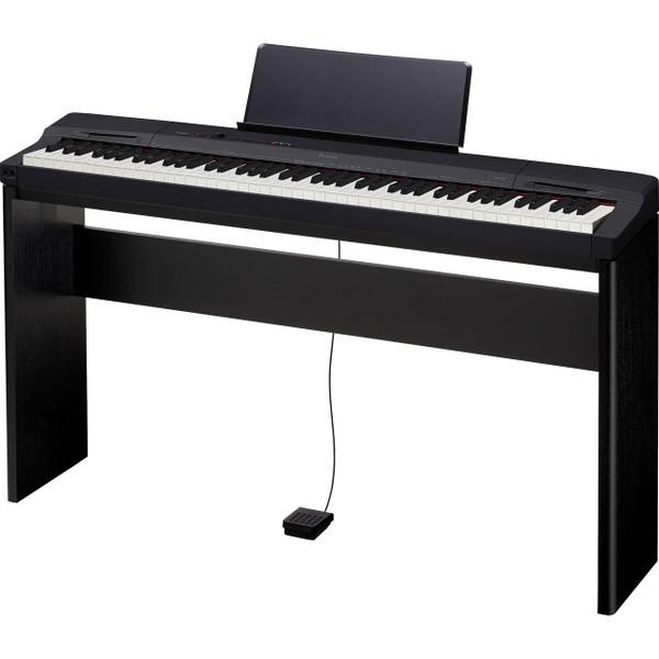 Casio Privia PX160BKCSU 88-Key Digital Piano with CS-67 Black Stand