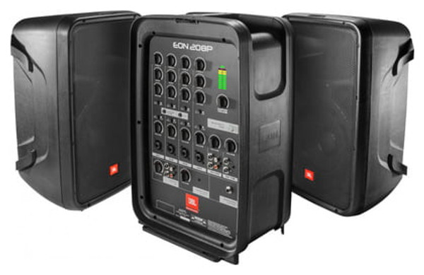JBL EON208P 300W Packaged PA System