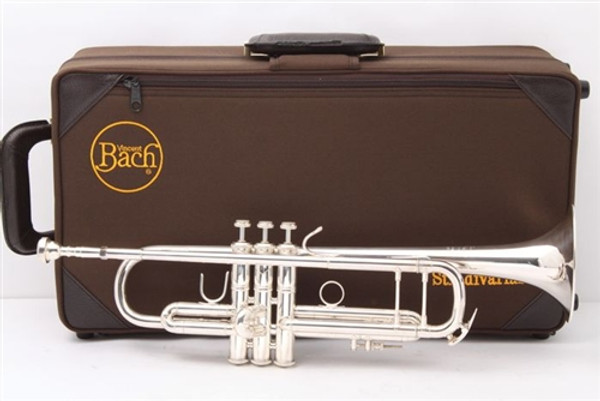 Bach Stradivarius 180S37 professional Bb trumpet-silver plated