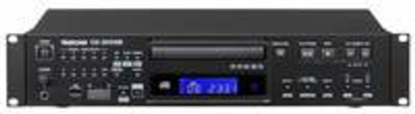 Tascam CD200SB Rackmount CD Player with SD and USB