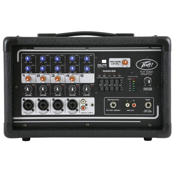 Peavey PV5300 200W Powered Mixer