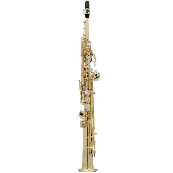 To celebrate it's 125th anniversary Selmer has introduced the Jubilee line of Saxophones. These saxophones carry on the tradition of Series II and Series III saxophones with added benefits such as a lighter touch on the newly designed octave key as well as a lighter engraving with Henri Selmer's signature on the bell ring.  Lacquer finsh