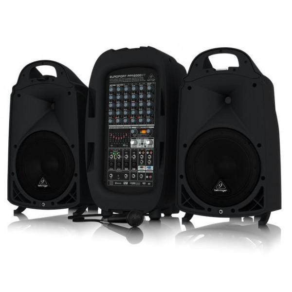 Behringer PPA2000BT portable pa system