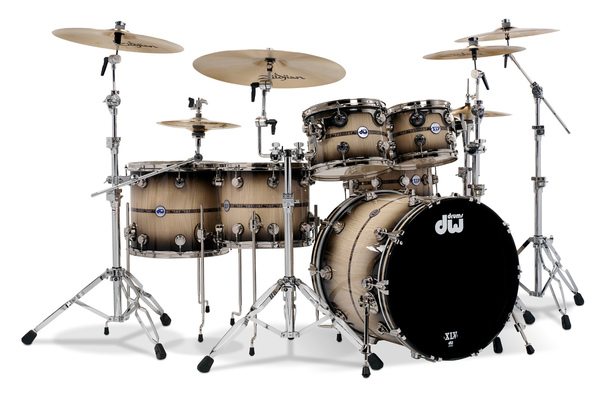 "Drum Workshop DW DRKT45A 6-Piece Collectors Series ""Sapphire"" 45th Anniversary Kit"
