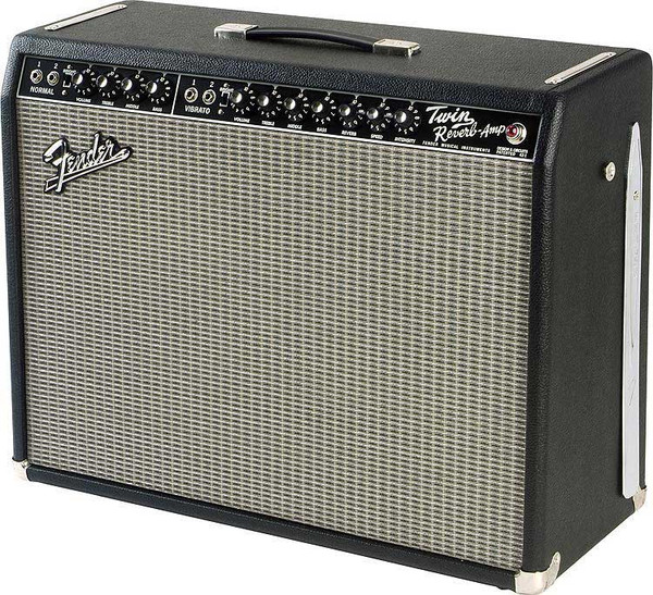 "Fender	Twin Reverb '65 85W Tube Guitar Amp with 2 x 12"" Jensen Speakers"