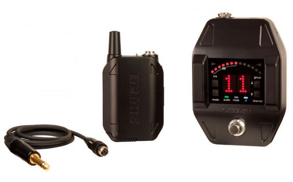 Shure GLXD16 GLXD Series Digital Wireless Guitar/Bass Pedal System