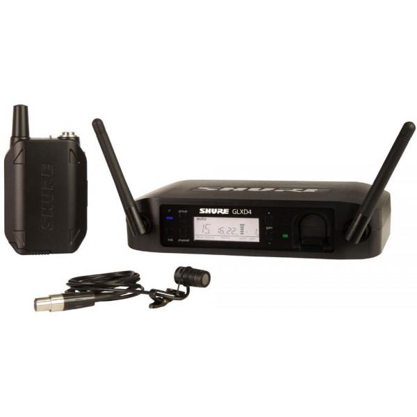 Shure GLXD14/85 lavalier wireless microphone system
