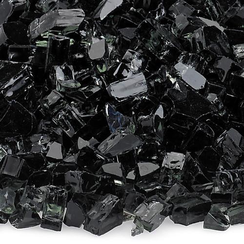 "1/4"" Black Fire Glass"