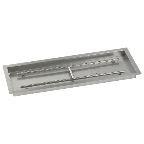 "36"" x 12"" Rectangular Stainless Steel Drop-In Pan with AWEIS System - Whole House Propane"