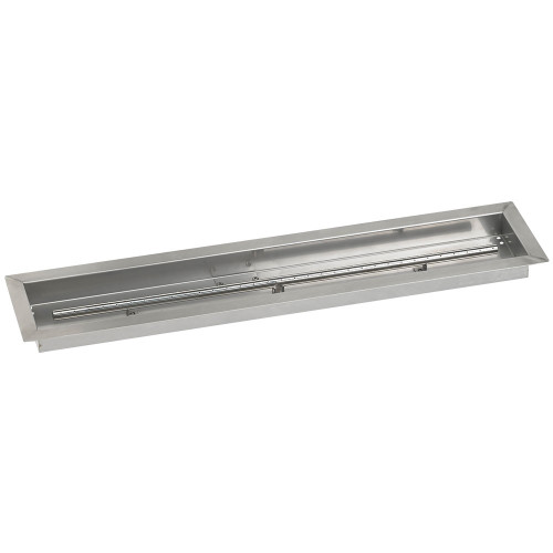 "36"" x 6"" Stainless Steel Linear Drop-In Pan"