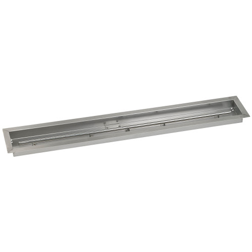 "48"" x 6"" Stainless Steel Linear Drop-In Pan"