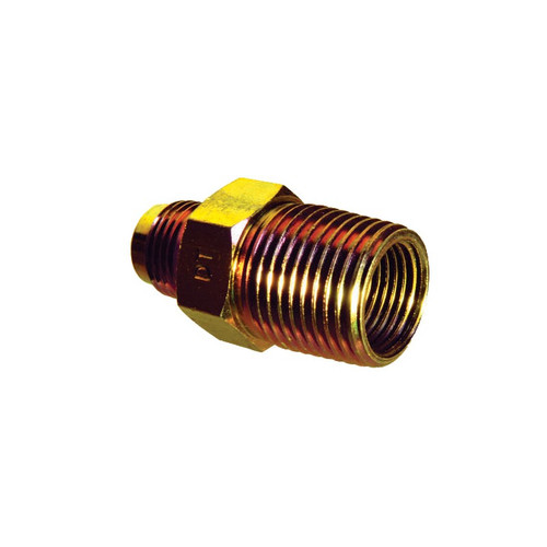 "3/8"" Flare x MIP Couplings"