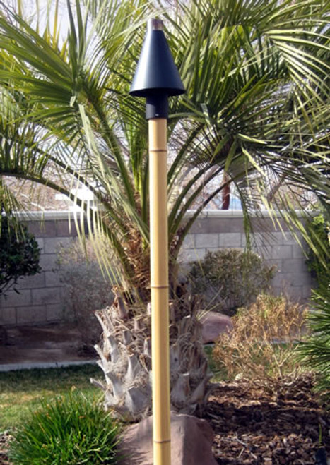 Faux Bamboo Pole for Tiki Torch