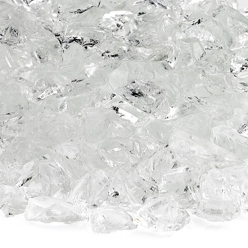 Ice Small Fire Pit Glass