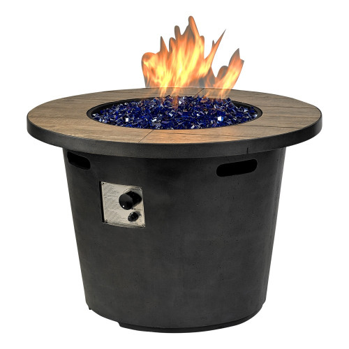 """duraflame® Del Rey Fire Pit With 35"""" Top"""