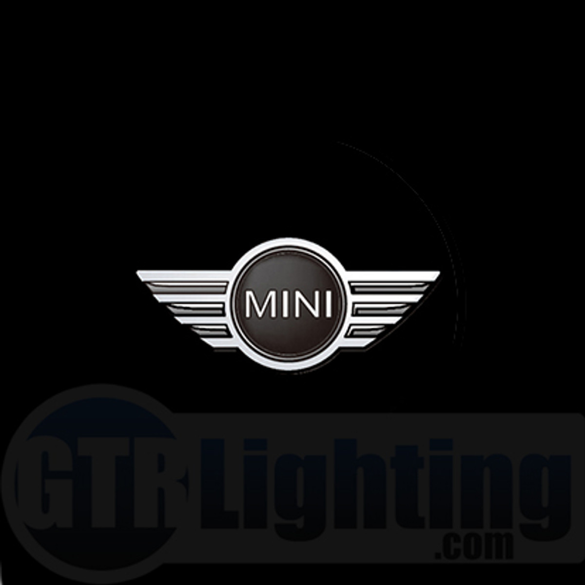 gtr lighting led logo projectors mini cooper logo 44. Black Bedroom Furniture Sets. Home Design Ideas
