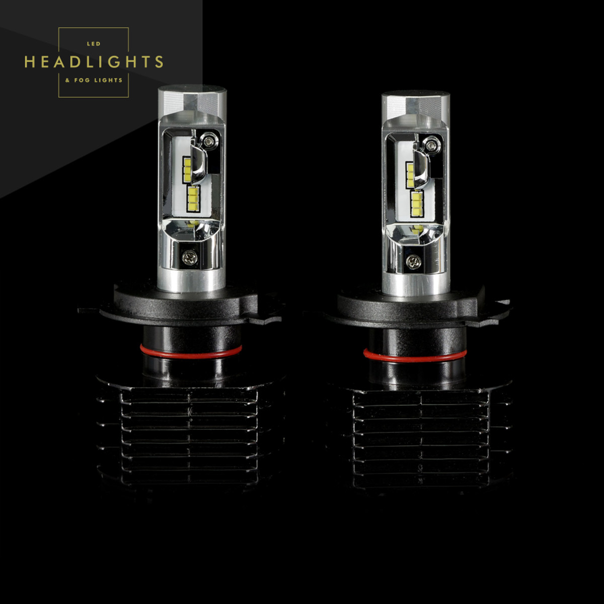 GTR Lighting Ultra Series LED Headlight Bulbs - H4 / 9003 - 3rd Generation ... & GTR Lighting Ultra Series LED Headlight Bulbs - H4 / 9003 - 3rd ...