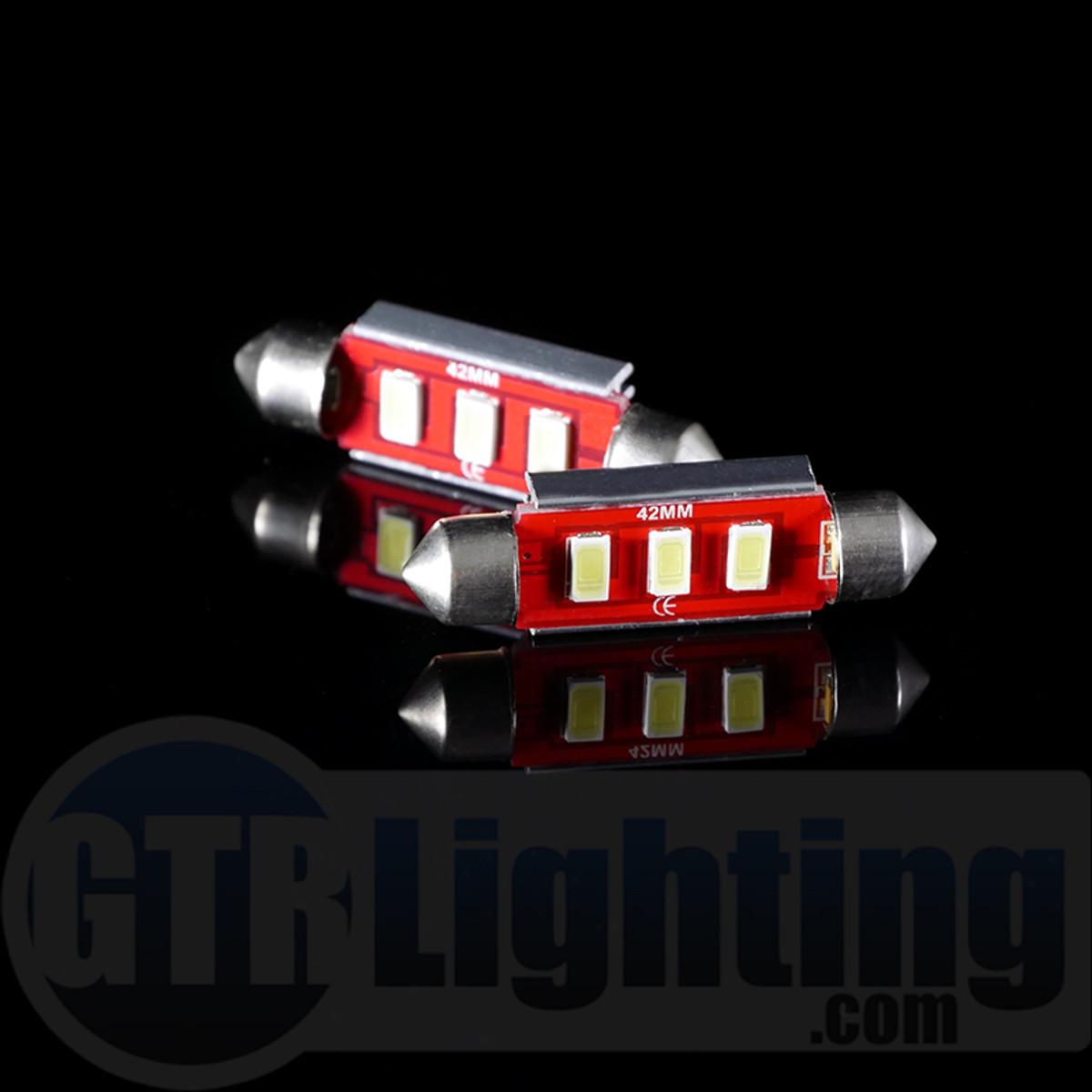 GTR Lighting 42mm CANBUS Festoon LED Bulbs ... & GTR Lighting 42mm CANBUS Festoon LED Bulbs - GTR Lighting