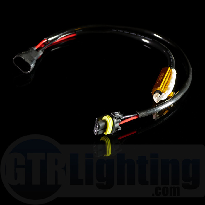 GTR Lighting 9005 / 9006 Style 50w Resistor T-Harnesses