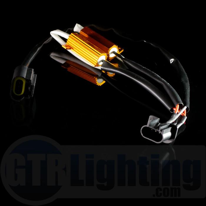 GTR Lighting H13 Style 50W Resistor T-Harness