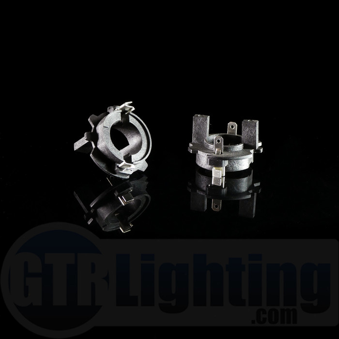 GTR Lighting Volkswagen H7 HID Bulbs Adapters (1999-2010 Rabbit, Golf, Jetta)