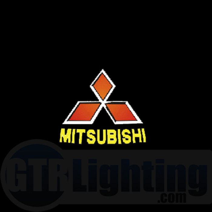 GTR Lighting LED Logo Projectors, Mitsubishi Logo, #3