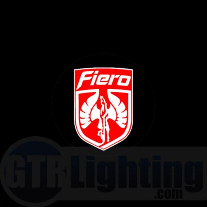 GTR Lighting LED Logo Projectors, Pontiac Fiero Logo, #2