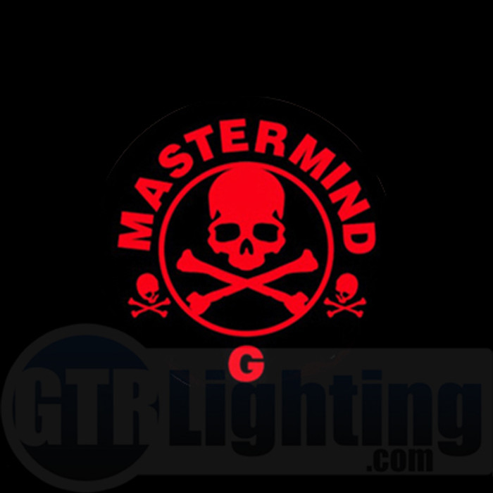 GTR Lighting LED Logo Projectors, Pirate Logo, #16