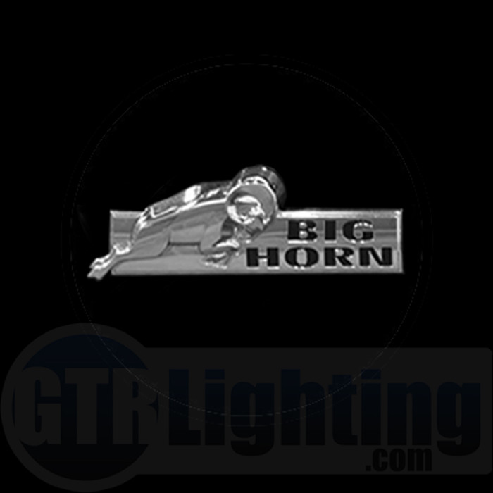 GTR Lighting LED Logo Projectors, Dodge Big Horn Logo, #65
