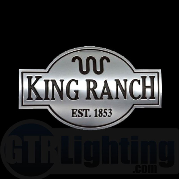 GTR Lighting LED Logo Projectors, Ford King Ranch Logo, #35