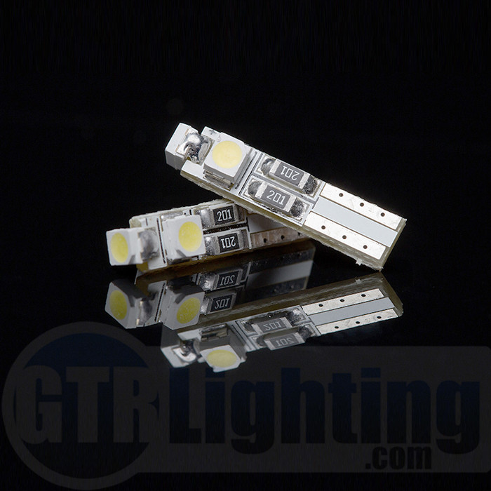 GTR Lighting T5 / 37 / 74 3-LED Bulbs
