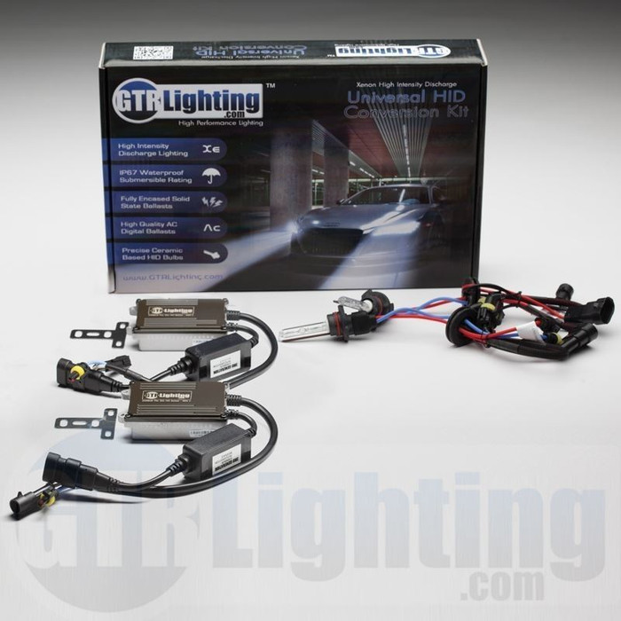 GTR Lighting 35w CANBUS Pro Single Beam HID Conversion Kit - 3rd Generation
