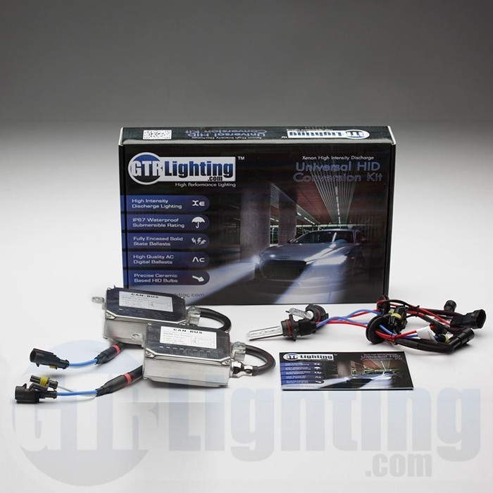 GTR Lighting 55w Hylux Single Beam CANBUS HID Conversion Kit - 4th Generation