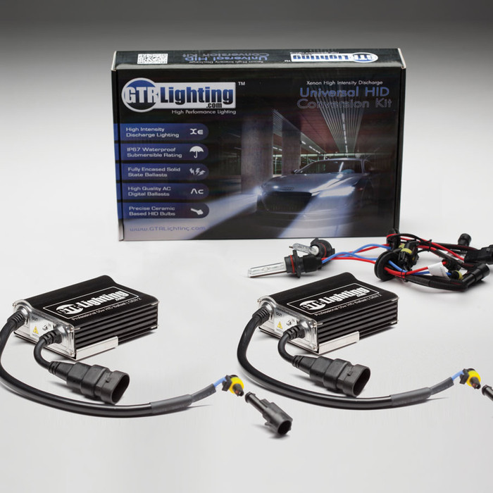 GTR Lighting 55w Pro Single Beam HID Conversion Kit - 3rd Generation