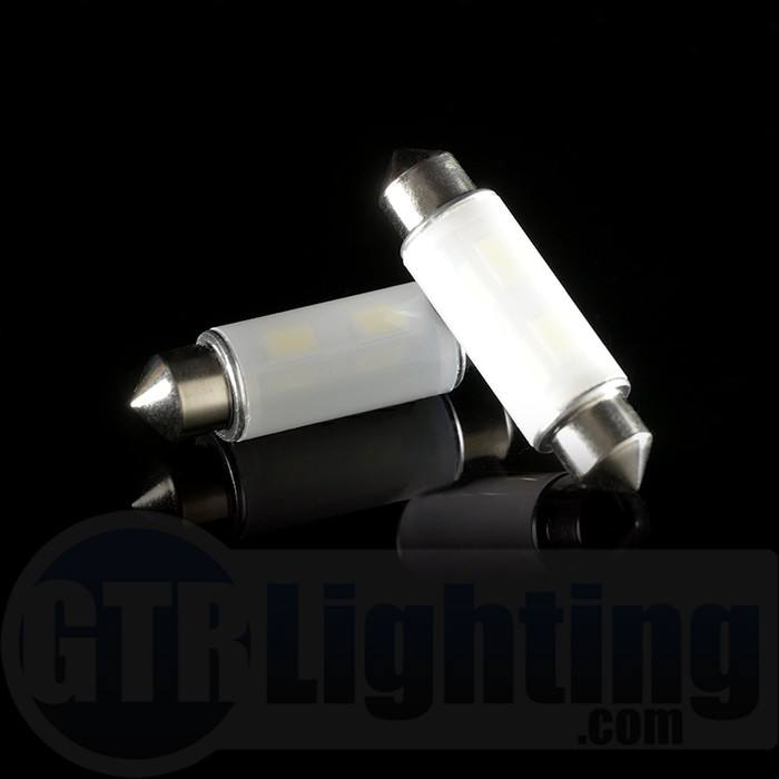 GTR Lighting 42mm 360 Degree Festoon LED Bulbs