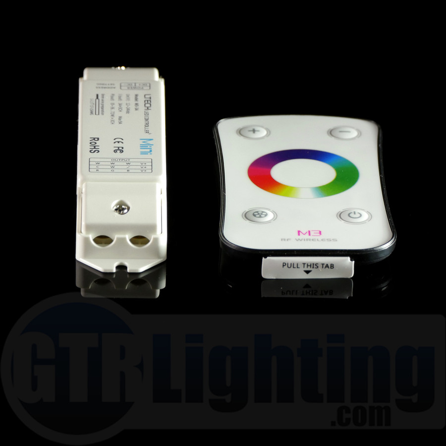GTR Lighting Color-Wheel RF RGB LED Remote Control
