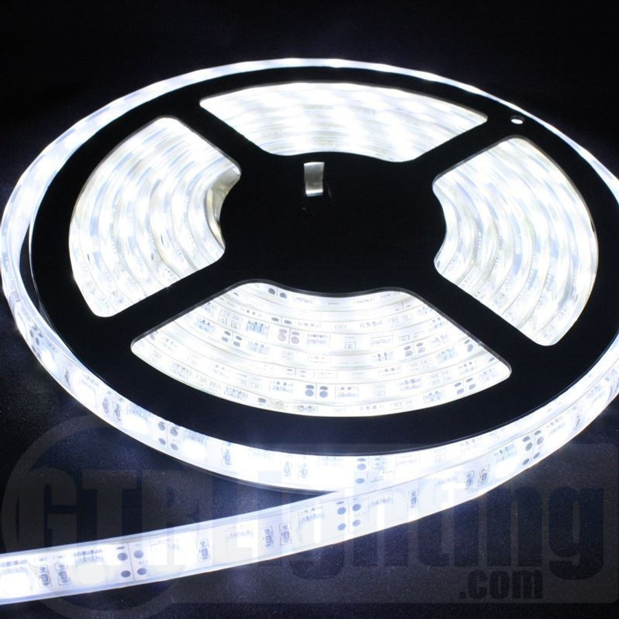 GTR Lighting 5m (16.5') Flexible LED Strip, Heavy Duty, Waterproof IP68