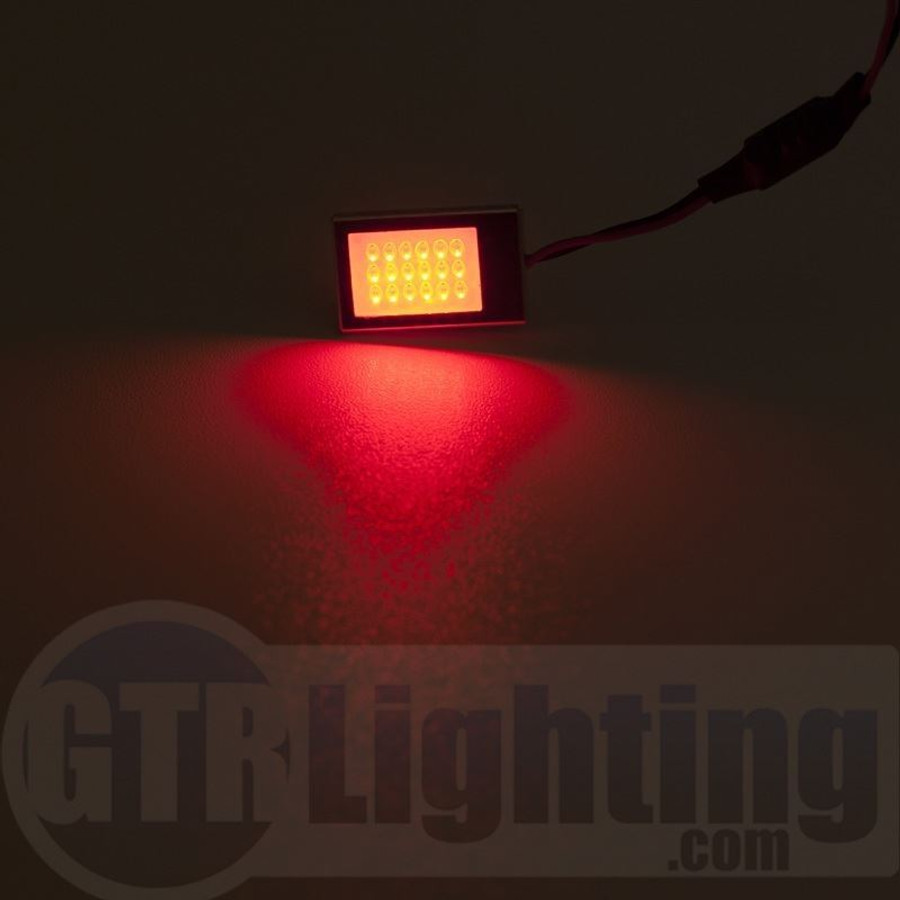 GTR Lighting Small Style Lightning Series LED Dome Light Board