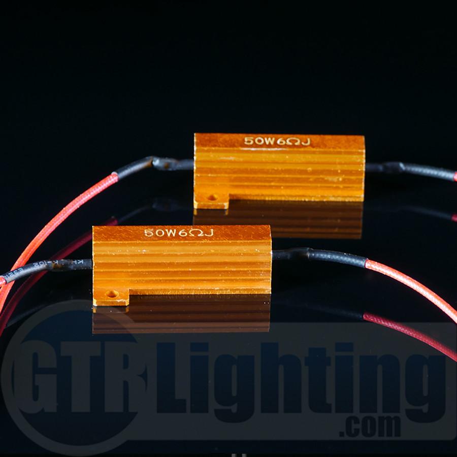 gtr lighting 50 watt 6 ohm gold style resistors for custom installation rh gtrlighting com Xentec HID Wiring-Diagram Electronic Ballast Wiring Diagram