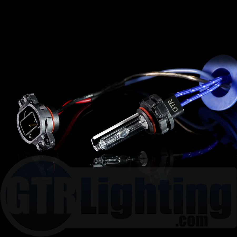 GTR Lighting 35w/55w Single Beam Replacement HID Bulbs, 5202 (Pair)