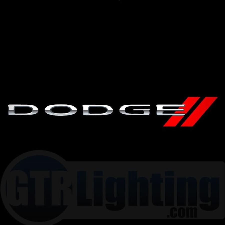 gtr lighting led logo projectors dodge logo 50
