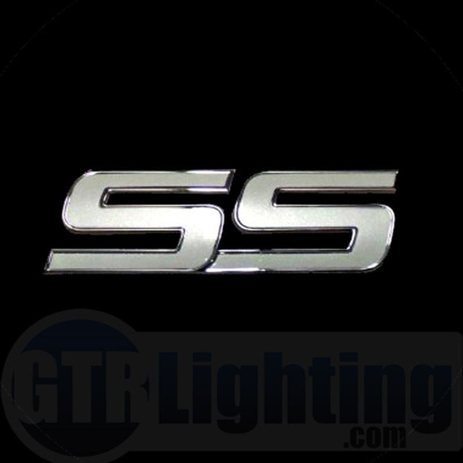 & GTR Lighting LED Logo Projectors Chevy SS Logo #53