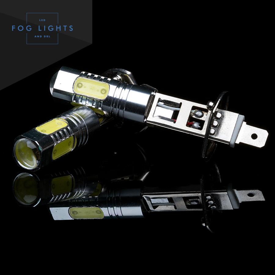 & GTR Lighting Lightning Series H1 LED Bulbs White