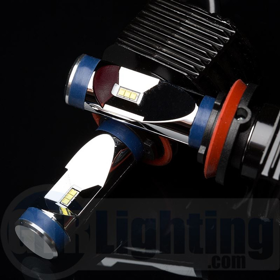 GTR Lighting Ultra Series LED Headlight Bulbs - H8 / H9 / H11 - 3rd Generation