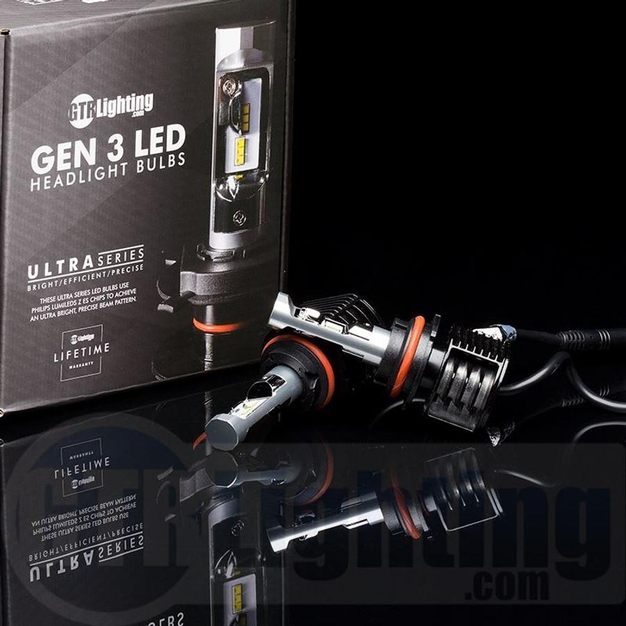 GTR Lighting Ultra Series LED Headlight Bulbs - 9007 / HB5 - 3rd Generation