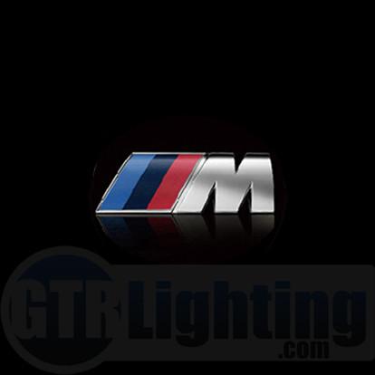 gtr lighting led logo projectors bmw m power logo 40
