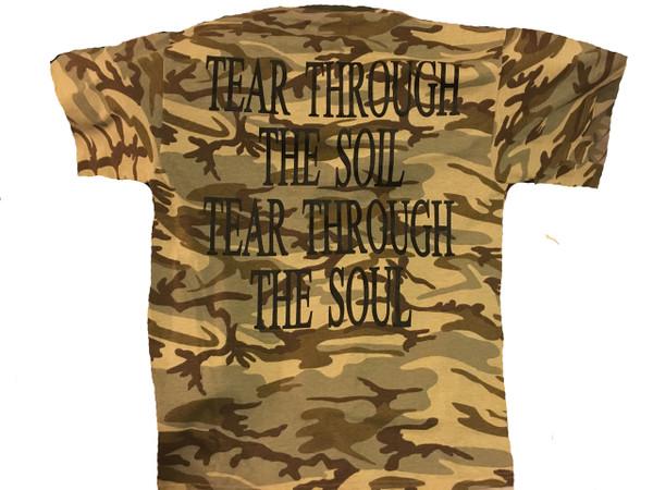 T-Shirt : Desert Camo / Logo (S, 2X & 3X Only)
