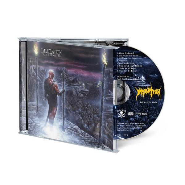 "Audio CD: ""Failures For Gods"""