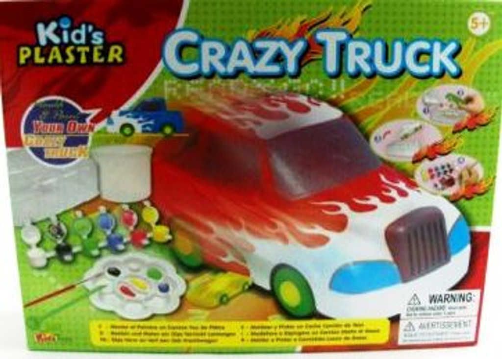 215 ch6 - kids plaster crazy truck - includes freight