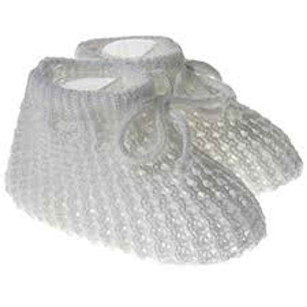 718 KNB Hand Knitted Baby Booties